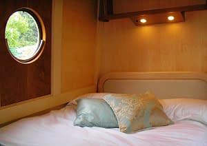 Real Internet Narrowboat Interior Design